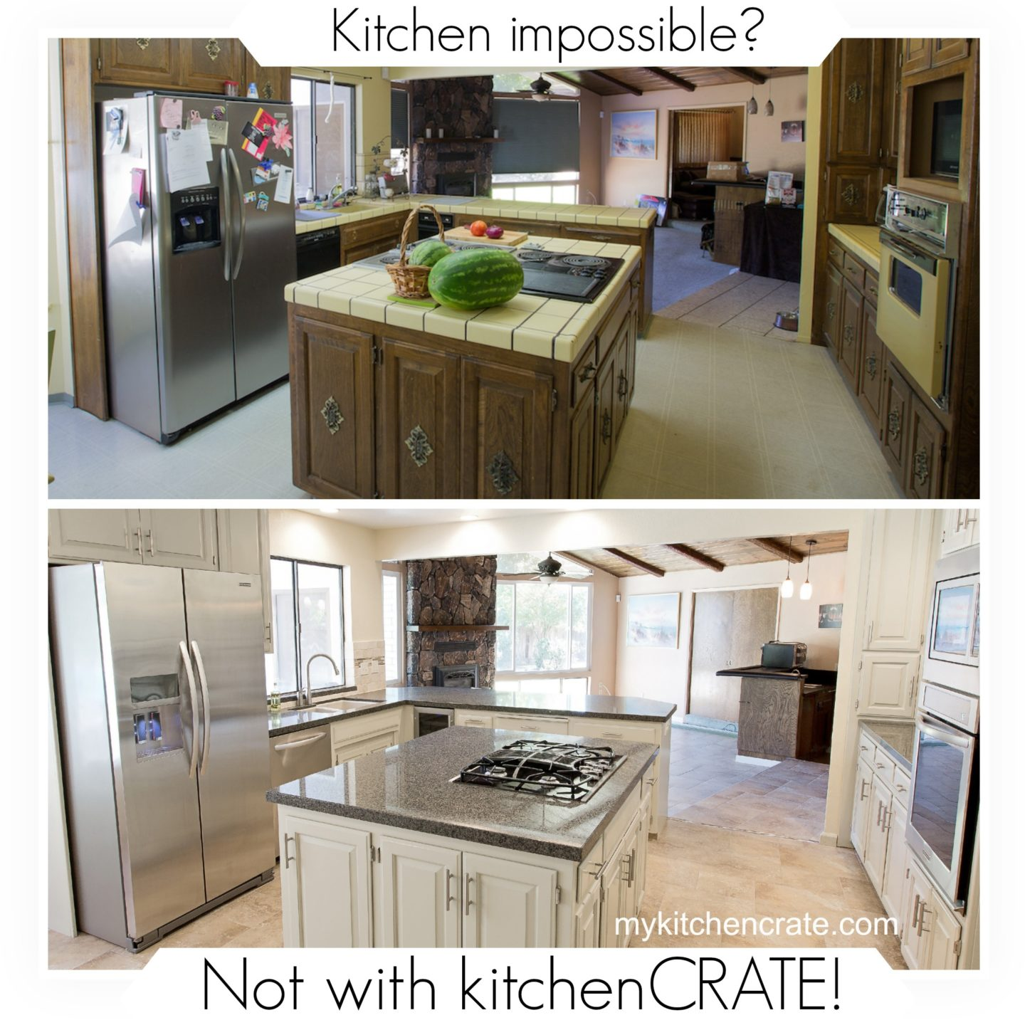 Kitchen Impossible Idee: Kitchen Impossible? Not With KitchenCRATE!