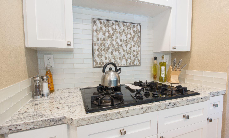 Good After   KC Trellis 22. This Backsplash: Bedrosians Manhattan Pearl 2 X 8 Glass  Tiles With ... Home Design Ideas