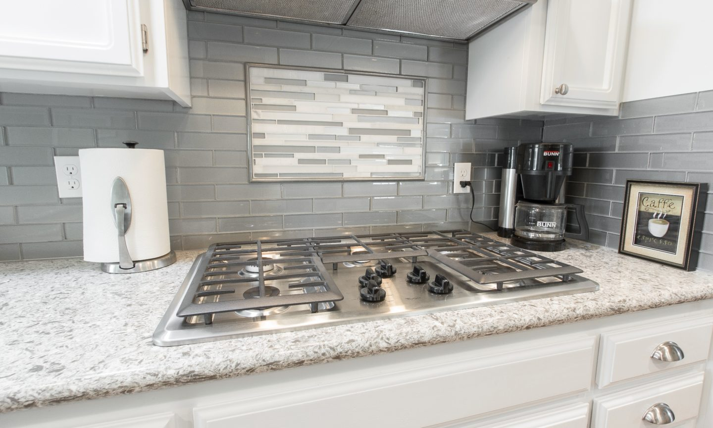 Glass Backsplash Trim. Glass. Glass. Rondec Bullnose Profile Used ...