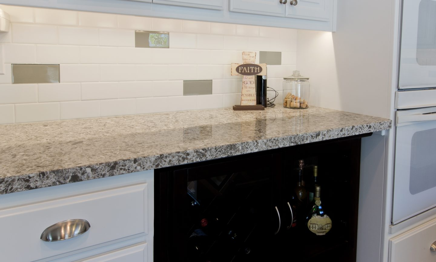 Celebrating national backsplash month part 3 kitchen for Dimensional tile backsplash