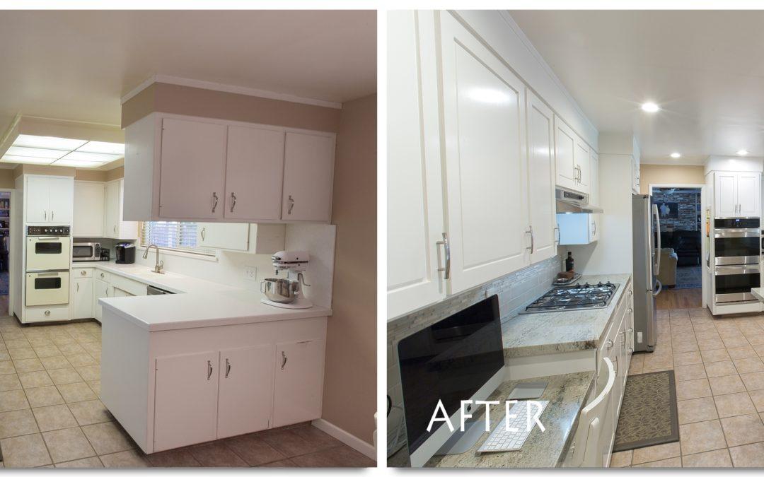 Kitchen remodel modesto kenmore court complete for Complete kitchen remodel price