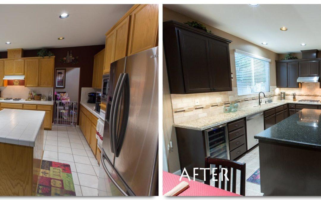 Kitchen remodel modesto loire court complete for Complete kitchen remodel price