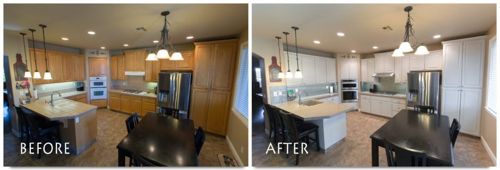 Refinishing Kitchen Cabinets Modesto - kitchenCRATE Tagura ...