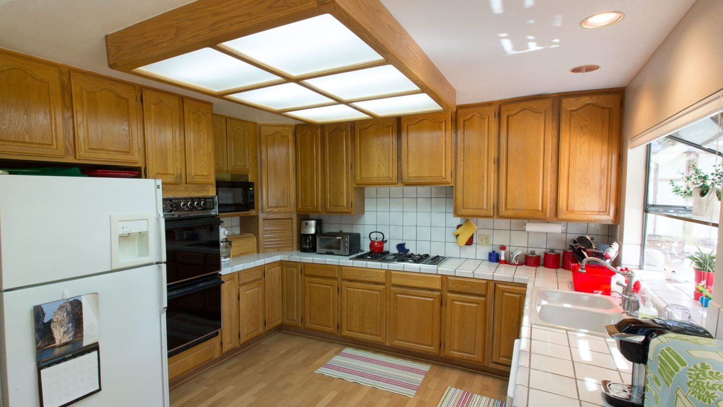 Before: Livermore Kitchen Remodel