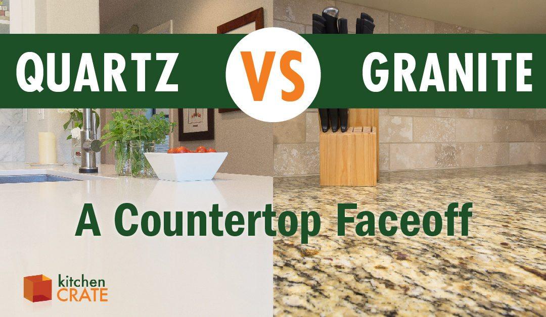 Granite vs Quartz  A Countertop Faceoff. What is the difference between granite and quartz