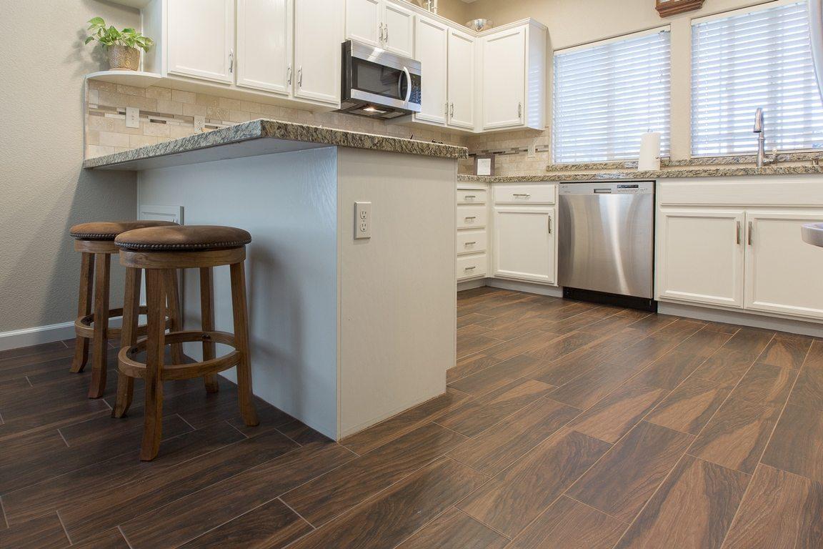 After kC Deitz 16. The Advantages of Wood Plank Tiles - Design Trend: Wood Plank Tile Flooring - KitchenCRATE & BathCRATE