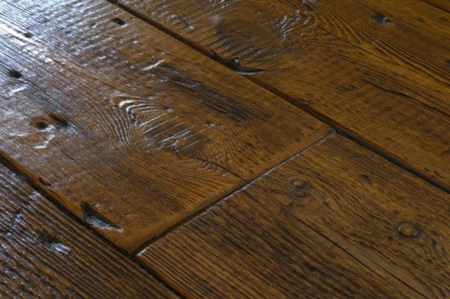 Real Wood Flooring - Wood Flooring: Laminate Vs Engineered Vs Real Wood - KitchenCRATE