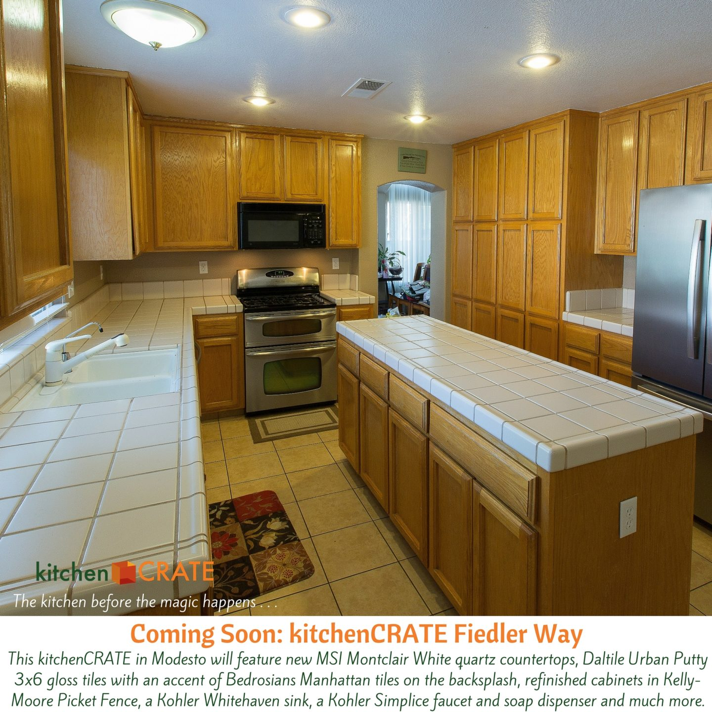 KitchenCRATE Fiedler Way Begins in Modesto CA