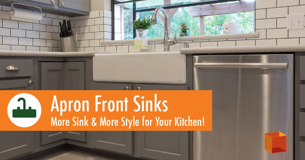 Apron Front : Apron Front Sinks: More Sink & More Style for Your Kitchen ...
