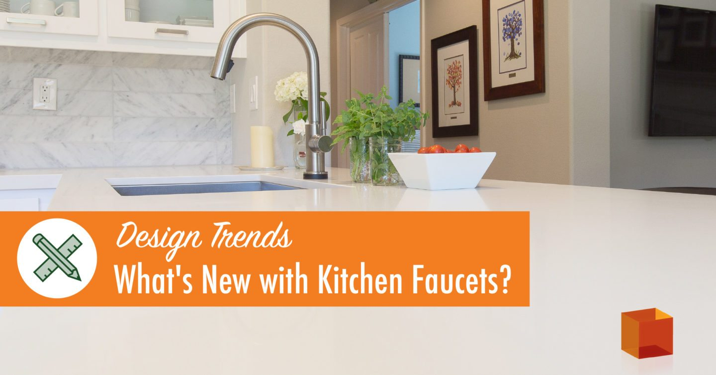 Design trends what 39 s new with kitchen faucet kitchen for Kitchen faucet trends