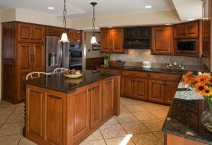 Refaced Kitchen