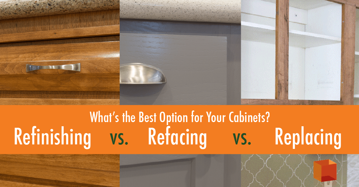 Refacing Vs. Replacing: Whatu0027s The Best Option For Your Cabinets?    KitchenCRATE U0026 BathCRATE Corporate
