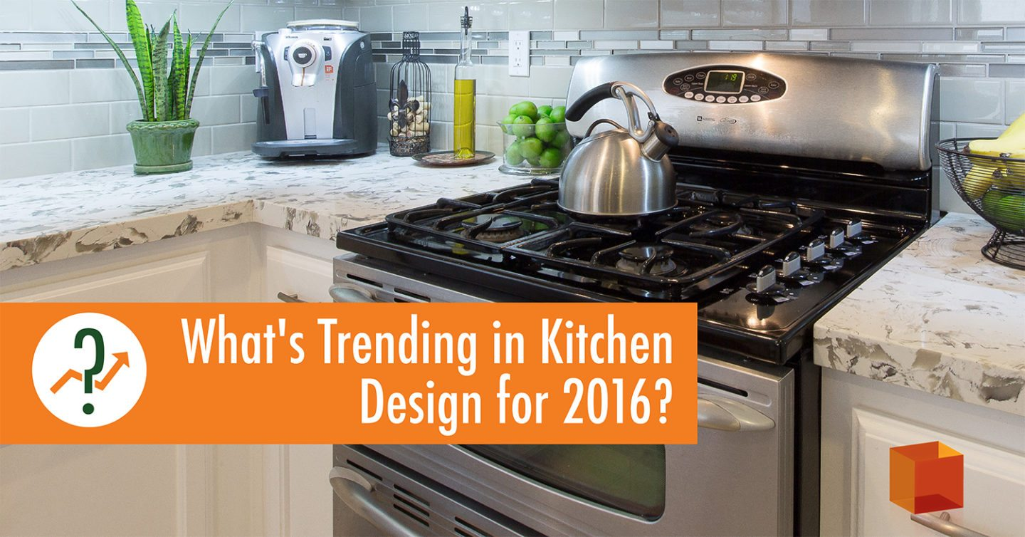What 39 S Trending In Kitchen Design For 2016 Kitchencrate Bathcrate Corporate