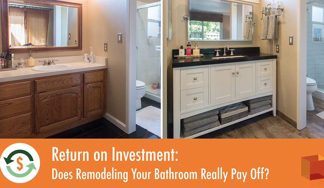 Return on investment does remodeling your bathroom really for Kitchen renovation return on investment