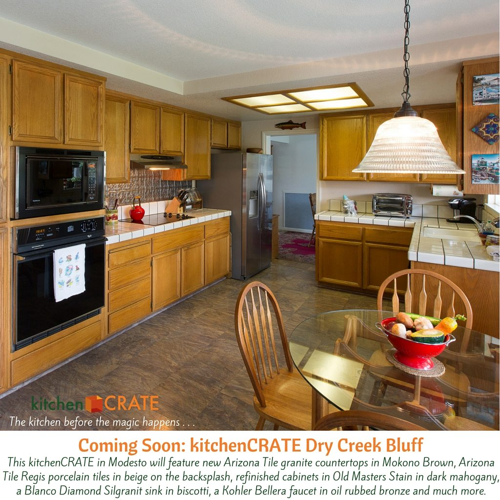 Mo Kono Brown Granite : Kitchencrate dry creek bluff in modesto ca begins