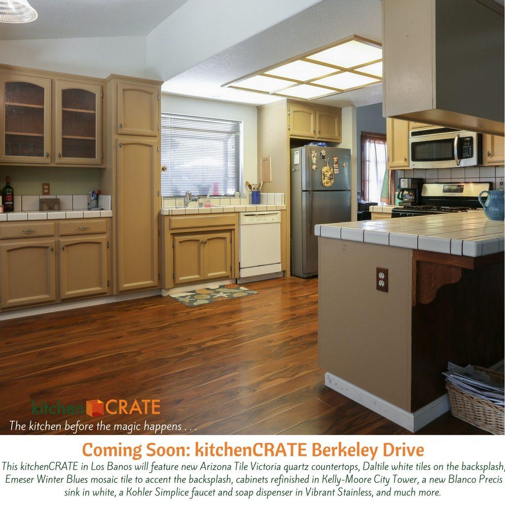 Kitchen Renovation in Los Banos, CA - kitchenCRATE Berkeley Drive