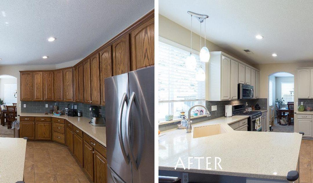 KitchenCRATE Refinish Ashbrook Drive in Modesto, CA Complete!
