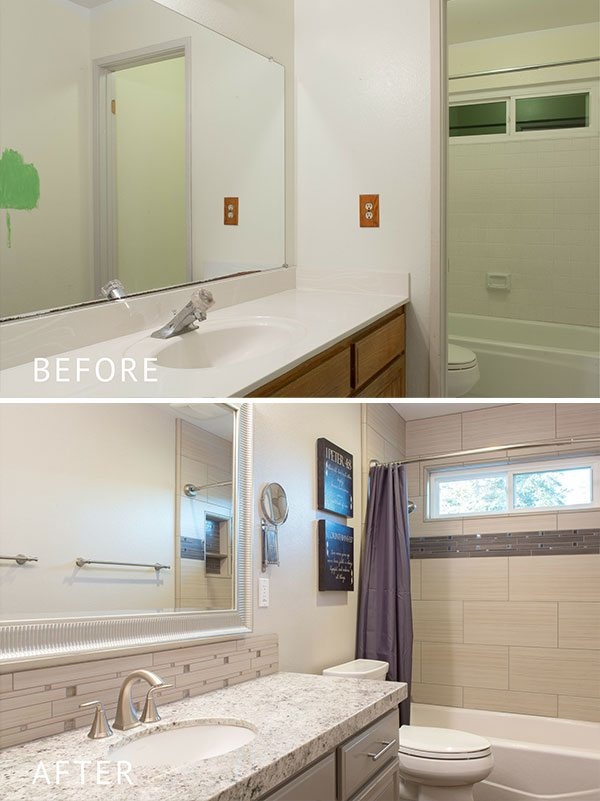 Bathroom remodel packages kitchencrate bathcrate for Bathroom remodel 10k