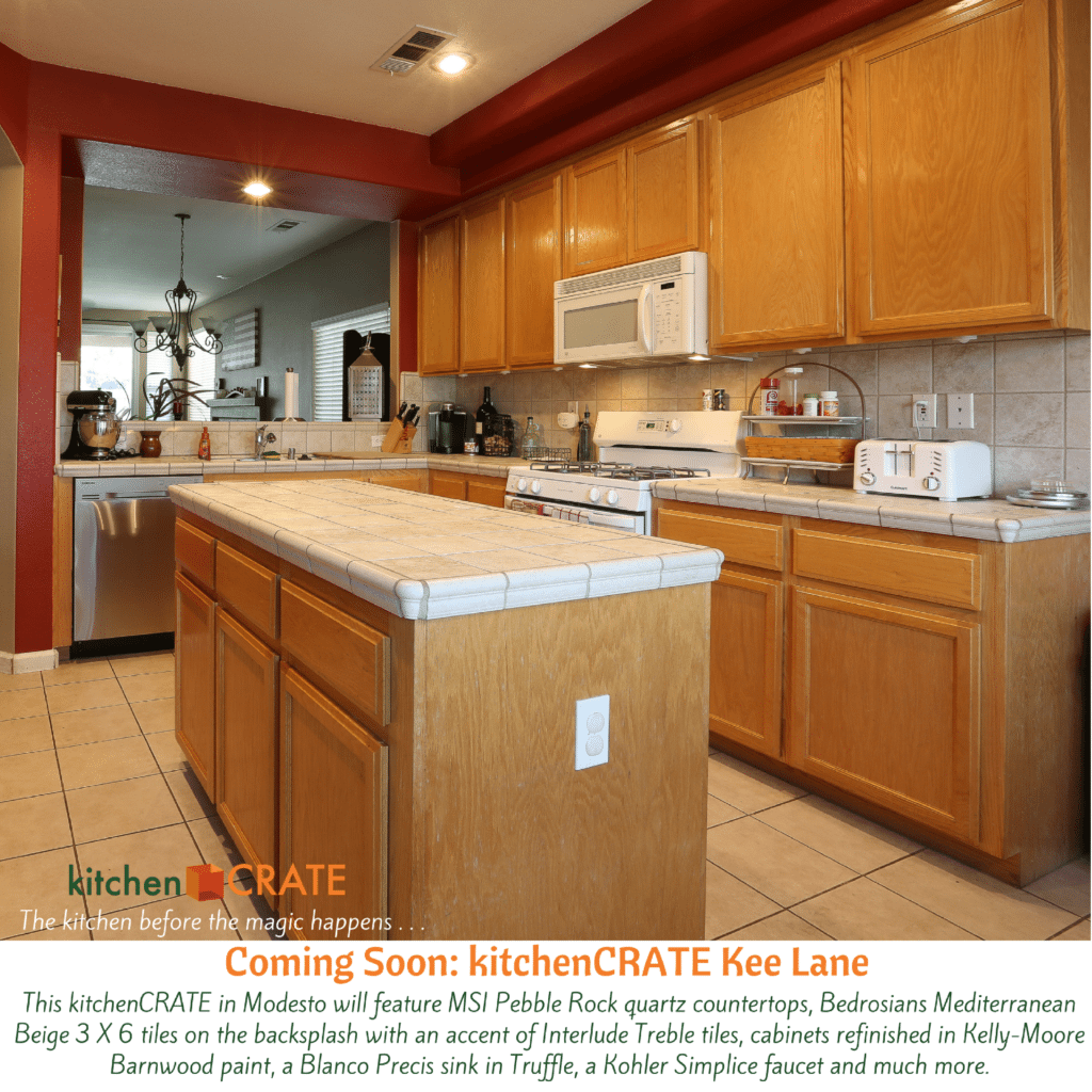 Kitchen Renovation Project In Modesto Kitchencrate Kee