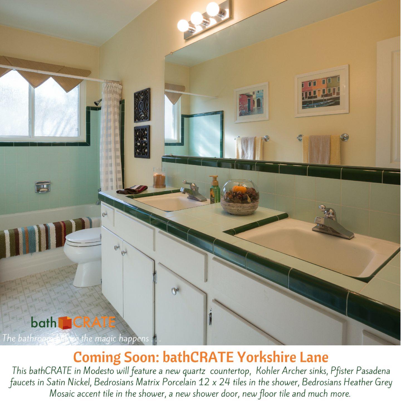 BathCRATE Yorkshire Lane Begins In Modesto, CA!