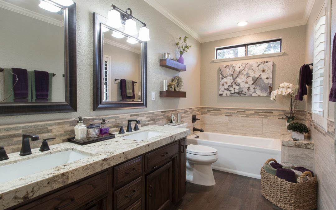 4 Design Tips to Make Your Bathroom Feel Larger