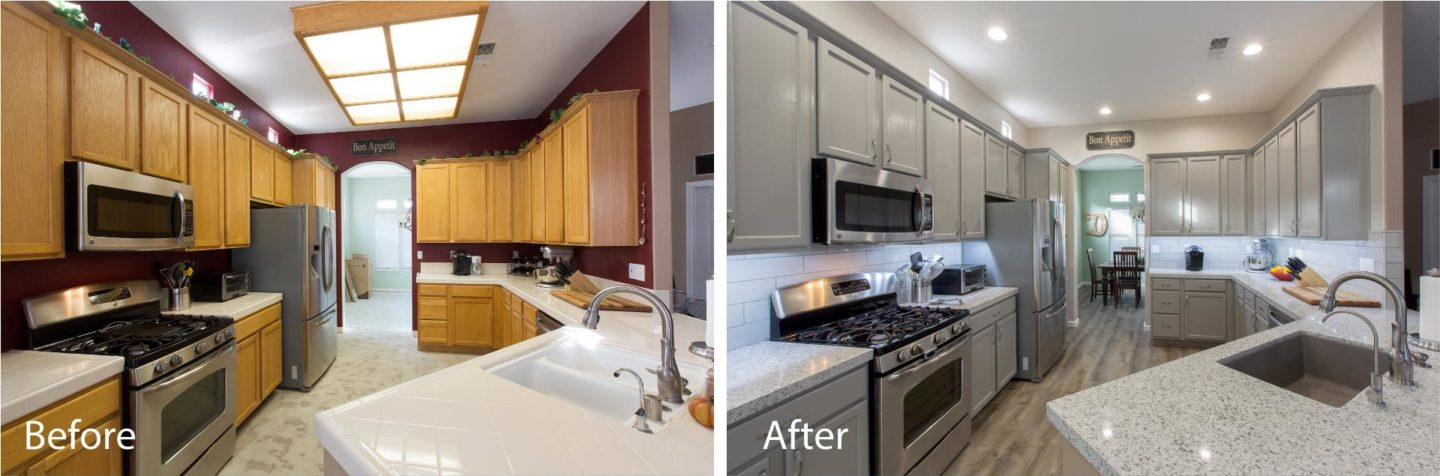 We Just Love This New Kitchen! This Kitchen Was Given A Complete New Look  From Head To Toe. One Of Our Favorite New Updates To This Kitchen Is The  Addition ...