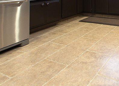 Easy to clean Tile flooring.
