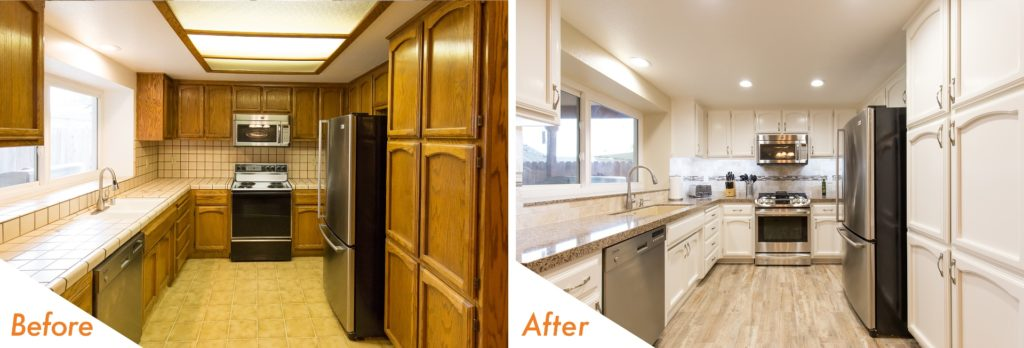 Moet Way, Modesto kitchen remodel.