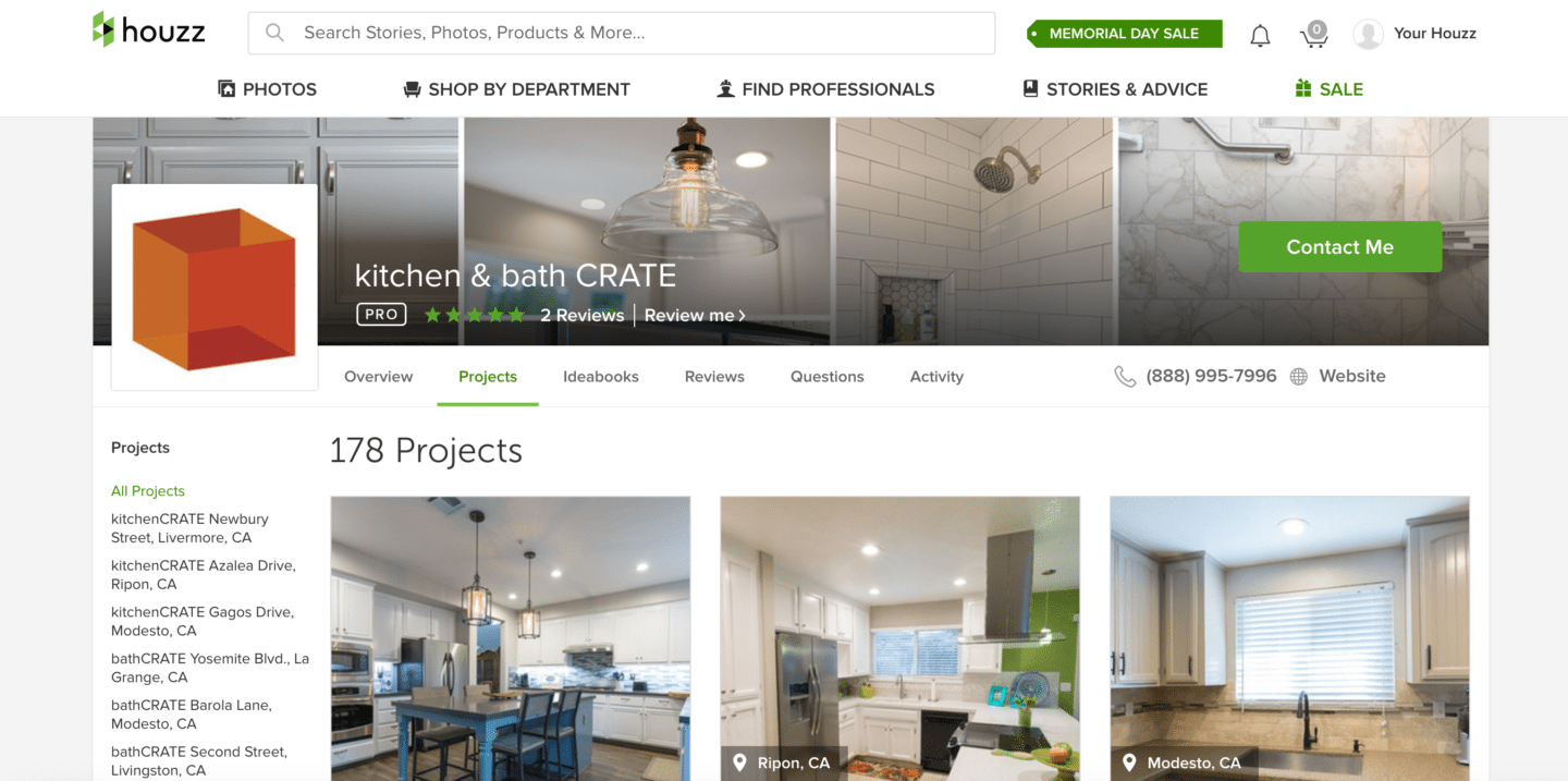2017 05 houzz interior design kitchen - The Best Page On Houzz Is Our Kitchen Bath Crate Page We Have 178 Projects Posted And More Every Week So You Can See The Transformations We Ve Done In
