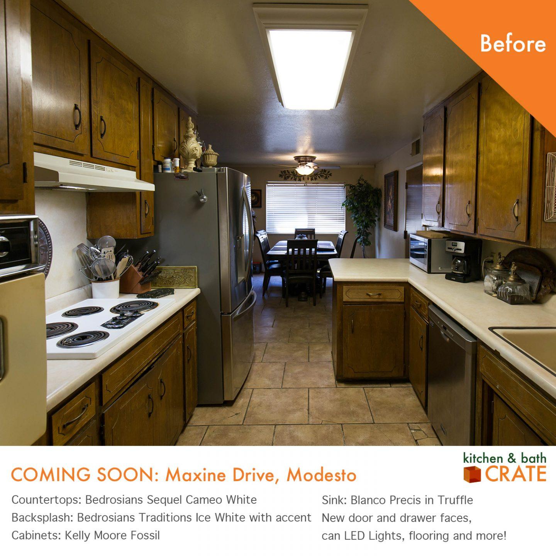 kitchenCRATE Maxine Drive is Underway in Modesto, CA