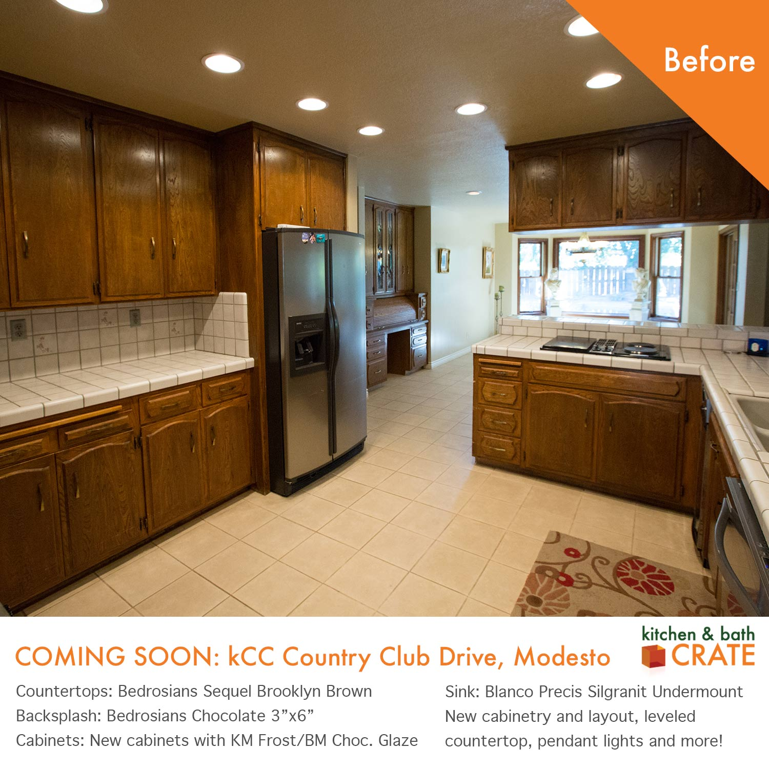 KitchenCRATE Custom Country Club Drive was Recently pleted in
