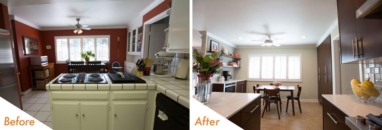 updated kitchen remodel.