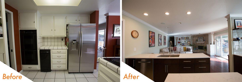 custom kitchen renovations in Modesto.
