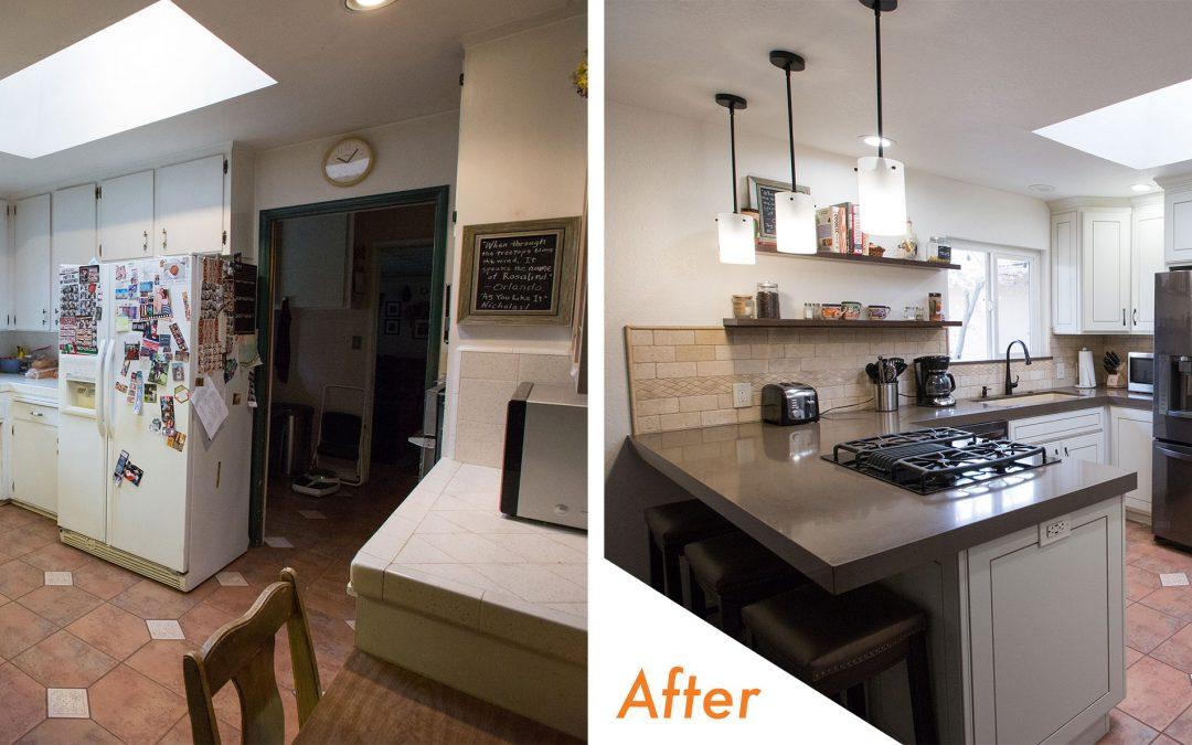 KitchenCRATE Custom Linn Court in Turlock, CA is Complete!