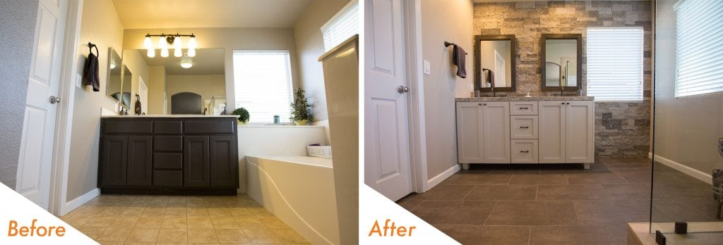 Bathroom remodel in Turlock