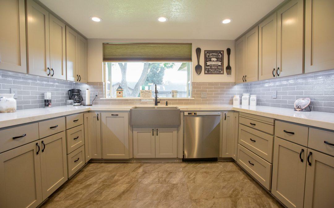 KitchenCRATE Barbera Lane in Modesto, CA Complete!