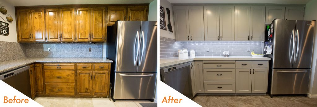 before and after pictures.