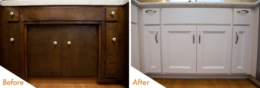 under sink cabinet remodel.