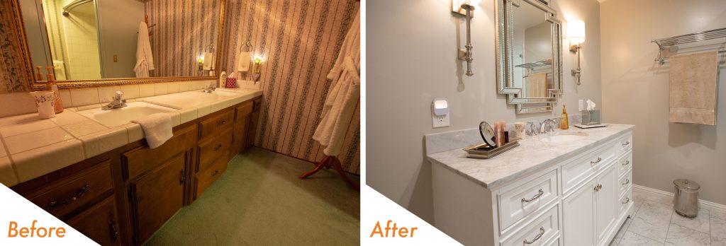 Bathroom renovation in Modesto,