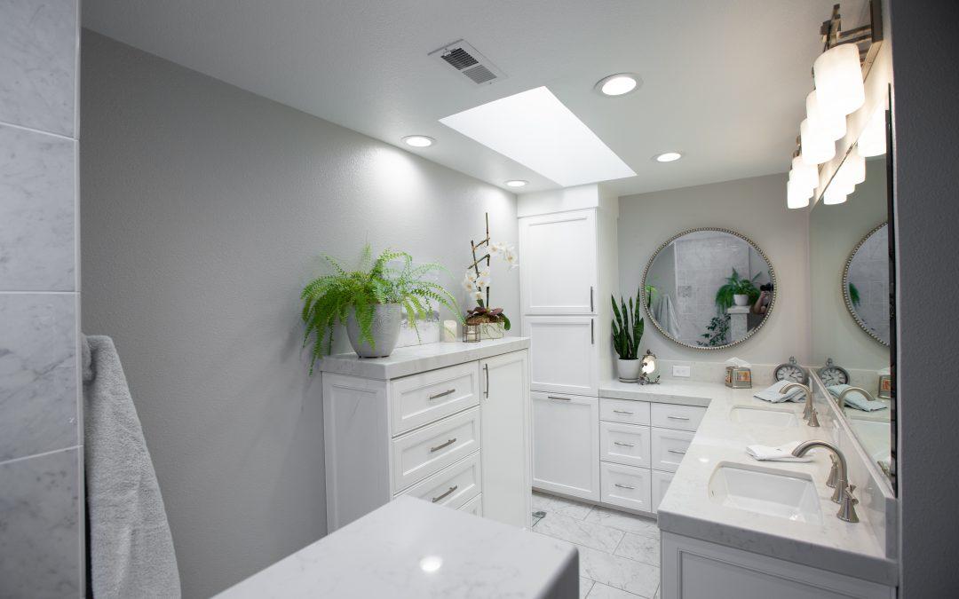Stockton bathroom remodel.