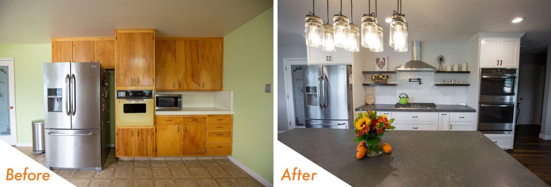 Open Concept Kitchen Remodel In Escalon Kc Custom S Van Allen Road