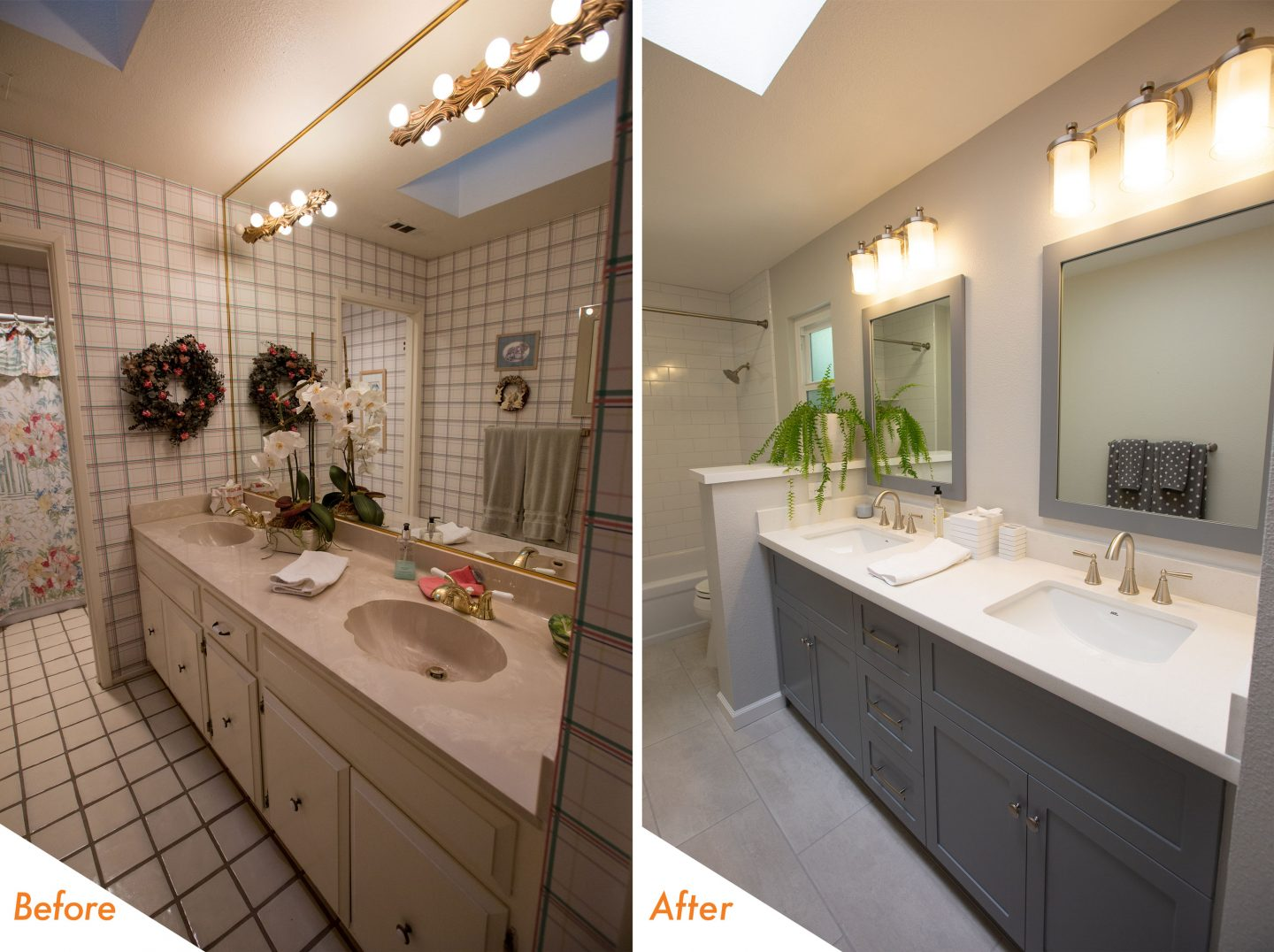Custom Bathroom Remodel Near Stockton Bathcrate Petersburg Circle