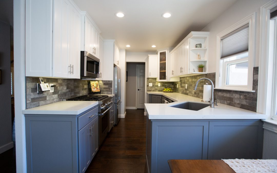 Pleasanton, CA kitchen remodel.