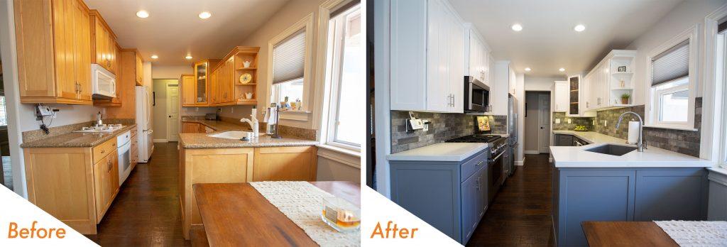 kitchen remodel in Pleasanton