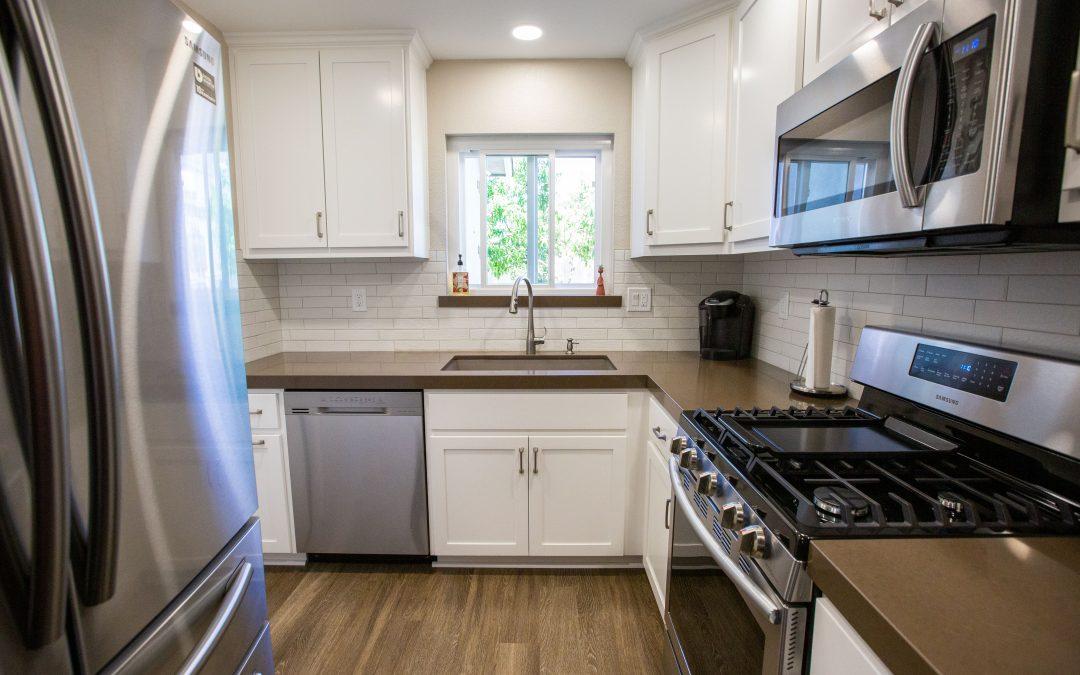 KitchenCRATE Custom Castilla Court in Modesto, CA is Complete!