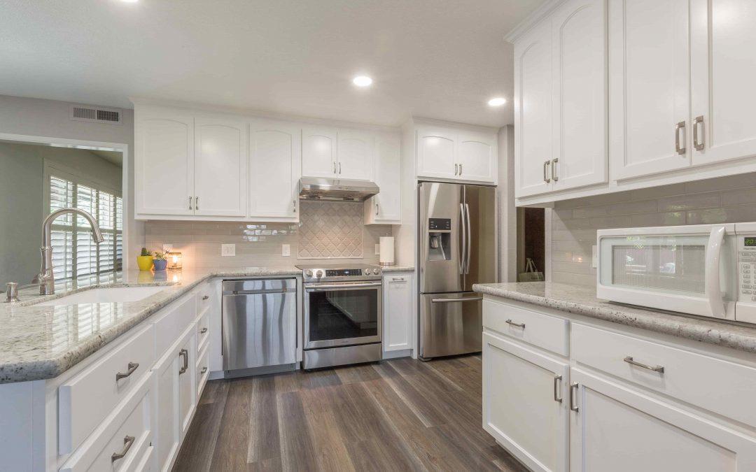 KitchenCRATE Custom Lillian Drive in Modesto, CA is Complete!