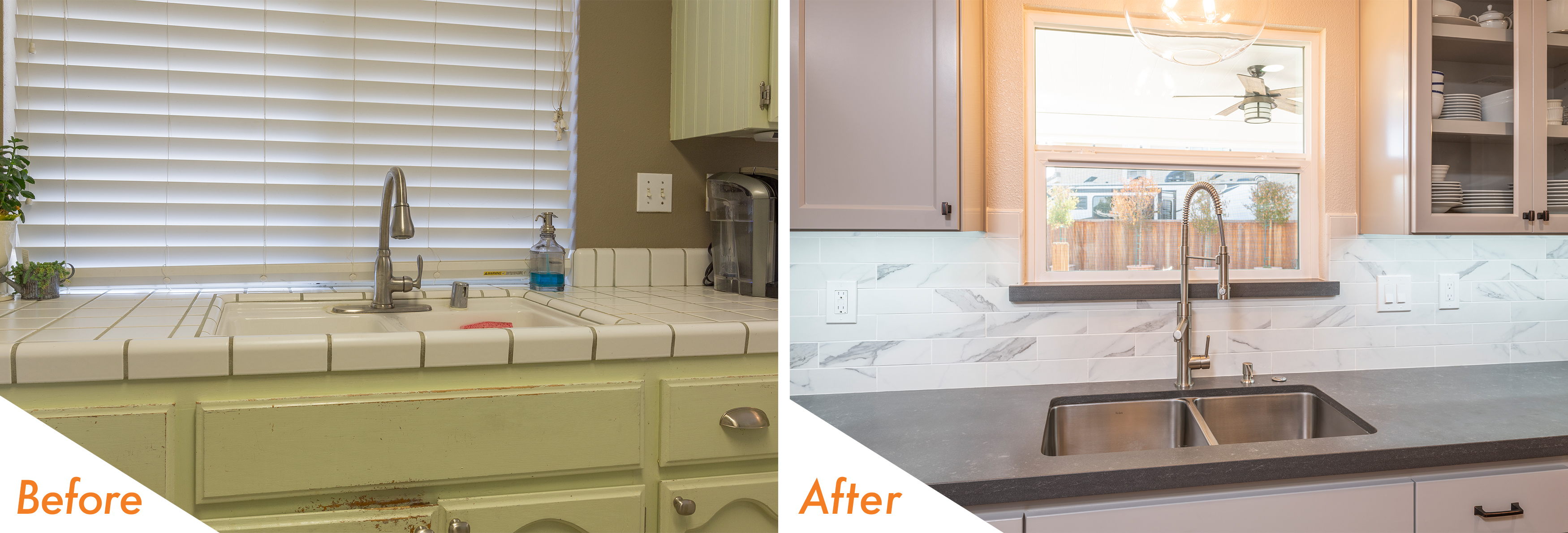 Before & After Custom Kitchen Remodel