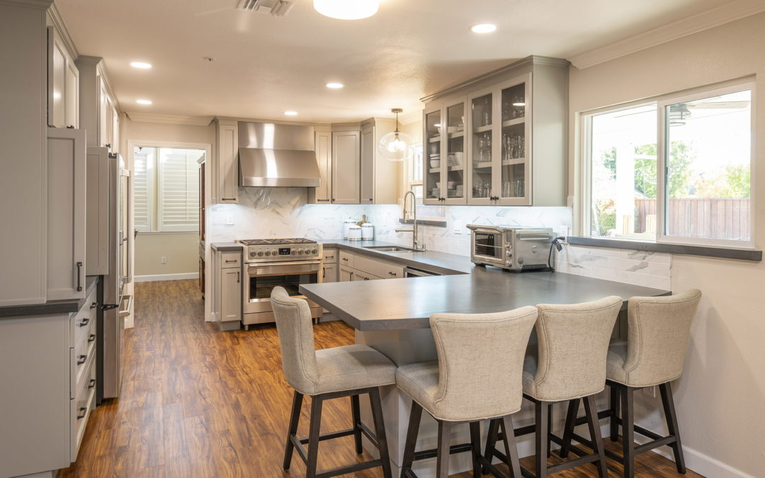 Stunning Custom Kitchen Remodel In Livermore Kcc Summertree Drive