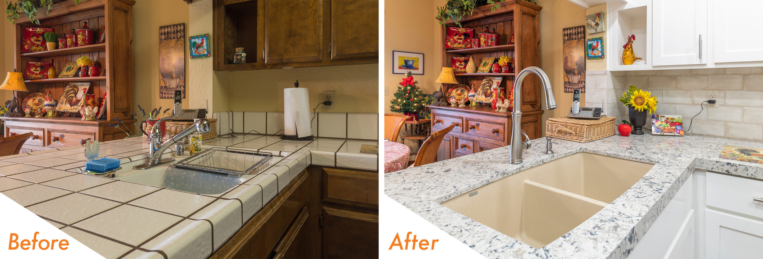 Before & After Kitchen Remodel