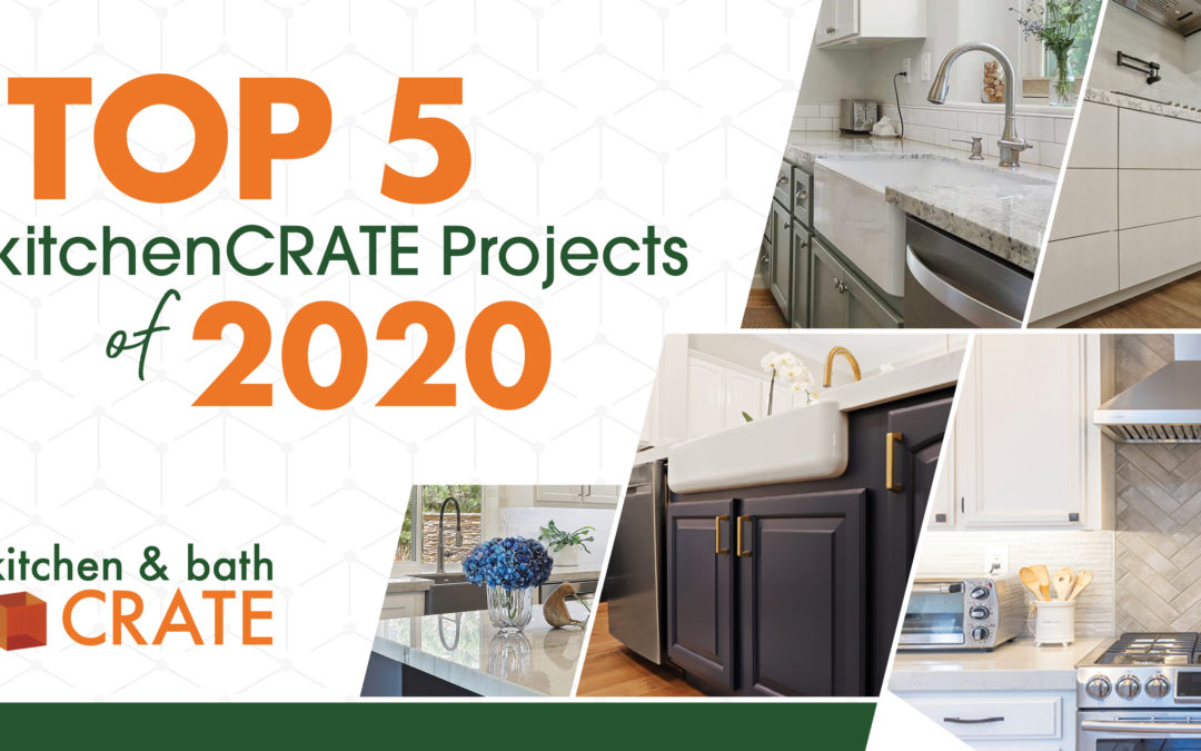CRATE Reveals Top 5 kitchenCRATE Projects of 2020